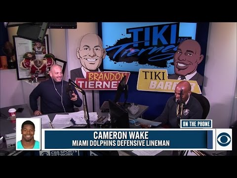 Cameron Wake joined Tiki and Tierney