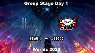 DWG vs JDG Group Day 1 WORLDS 2020 Чемпионат Мира Top Esports vs JGD Gaming