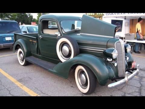 1937 Fargo Truck Original In Great Detail Youtube