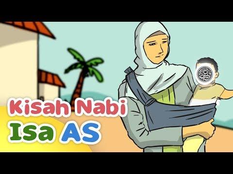 Kisah Nabi Isa AS yang Sudah Pandai Bicara Sewaktu Bayi - Kartun Anak Muslim Indonesia