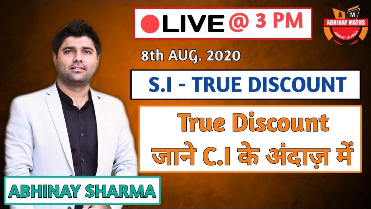 A to Z funda of true discount By Abhinay Sharma