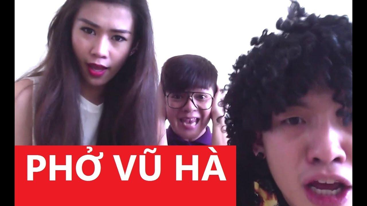 Phở 3 (Phở Vũ Hà): Người tình Mai Ya Hee (hát nhép) [Clip Hài Hước]