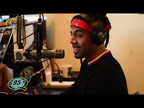 Vic Mensa Interview with Rico and Mambo on Q95.9