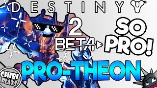 This Strike has a Pro Atheon in it! | Destiny 2 Beta Inverted Spire Strike
