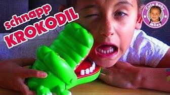 KROKODIL schnappt zu - Kroko Doc Schnappi - Kinder Spiel Spielzeug | CuteBabyMiley