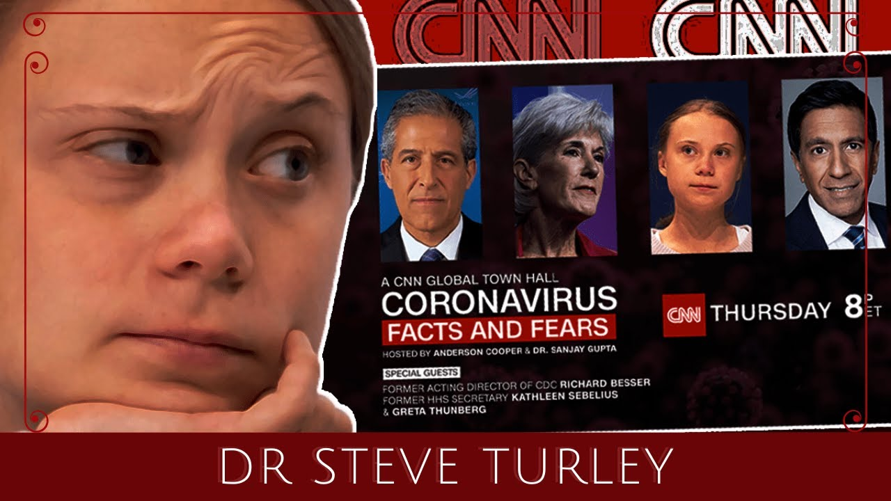 CNN MOCKED for Covid Townhall with Greta Thunberg as Anderson Cooper MELTS DOWN!!!