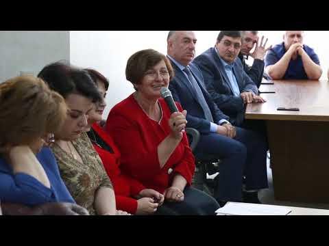 Посол Армении в России-Вардан Тоганян посетил армянский культурный центр им.Месропа Маштоца г.Тюмень