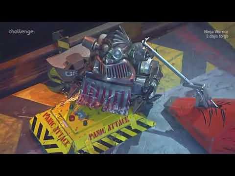 Robot Wars Classics: Kat 3 vs. Panic Attack vs. Bigger Brother vs. Firestorm 5.  