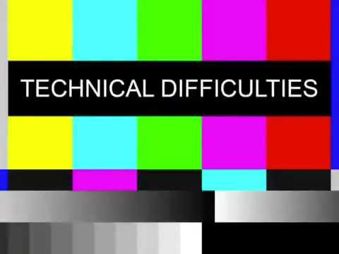 Technical difficulties sound effect