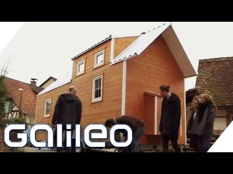 Tiny Houses Hauser Auf Radern Galileo Prosieben Youtube