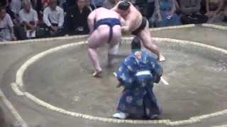 20150515 大相撲夏場所6日目 豪栄道vs栃ノ心.