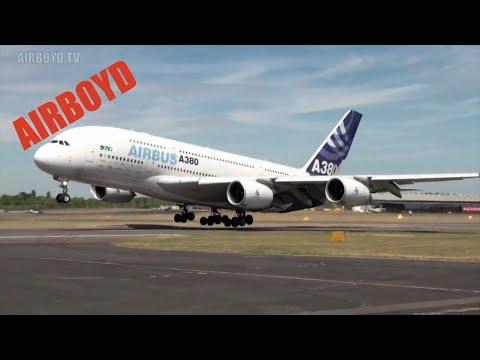 Airbus A380 Farnborough Air Show (2010)