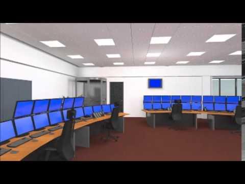 Rail Traffic Control Room Zwolle
