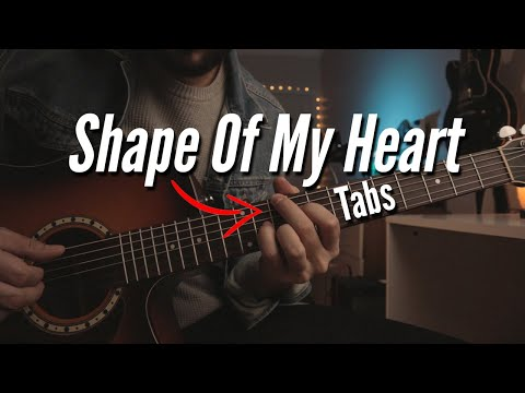 Shape Of My Heart Intro Guitar Lesson w/TABS