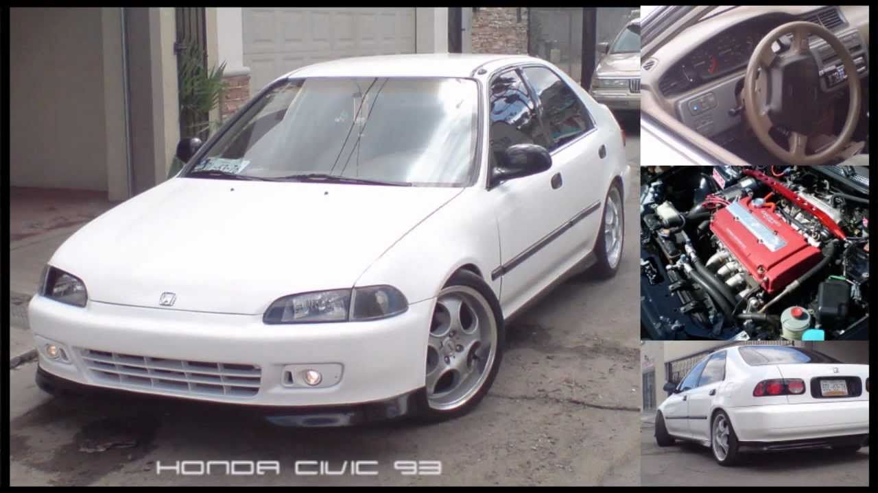 JDM Honda Civic 1993 [HD] - YouTube