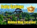 Follow The Treasure map in Salty Springs