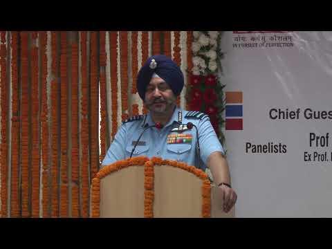 Chief Guest Chief Marshal B. S. Dhanoa PVSM, AVSM, YSM, VM, ADC, CHIEF OF AIR STAFF