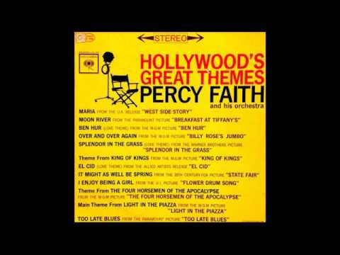 Percy Faith & His Orchestra ‎– Hollywood's Great Themes - 1962 - full vinyl album