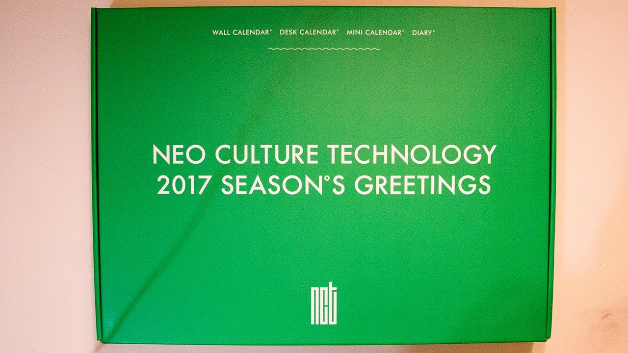 Unboxing nct 2017 season greeting youtube m4hsunfo