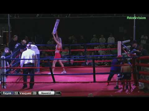 Tri Star Boxing Edwin Reyes vs Armando Vasquez 3 17 18 #storkvision
