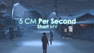 5 cm per second MV