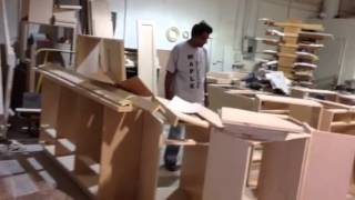 Making Custom Design Cabinets For Kitchen, Bathroom & Entertainment Center