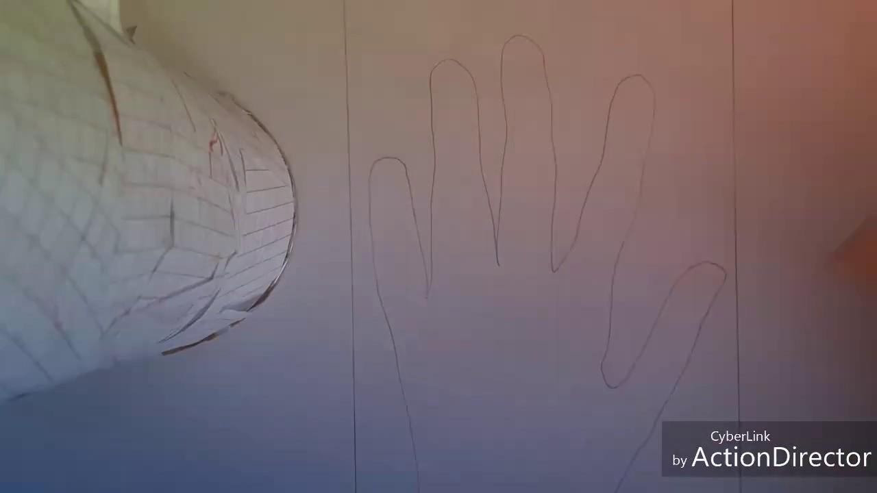 Come disegnare una mano in 3d youtube for Disegnare una stanza in 3d