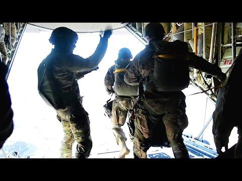 U.S. Army Spec Ops Airborne Qualification Jump