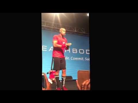 Shaun T Motivational Speech, Summit 2015