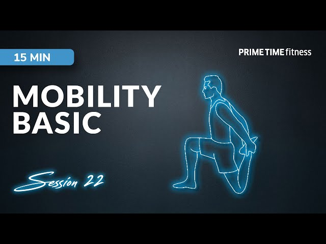 Live Workout Session - Mobility basic Vol.22