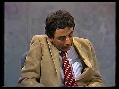 Rowan Atkinson Sketch - Reading Of Will - approx. 1985