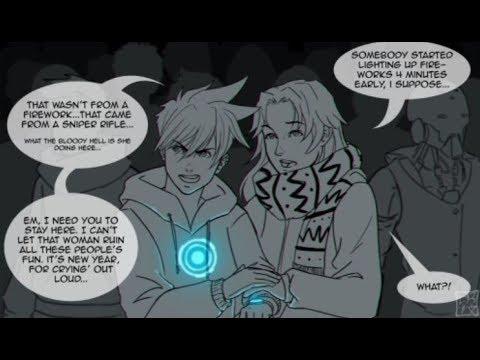 Comic Dub! - Overwatch New Year Comic! - ft. AllanahTheVA