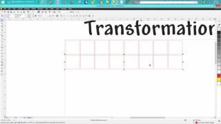 Corel Draw Tips Tricks Position Transformation Docker