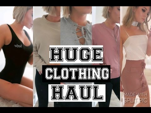 HUGE CLOTHING HAUL 2017 | Windsor Store | Pacsun | Express | Love Culture