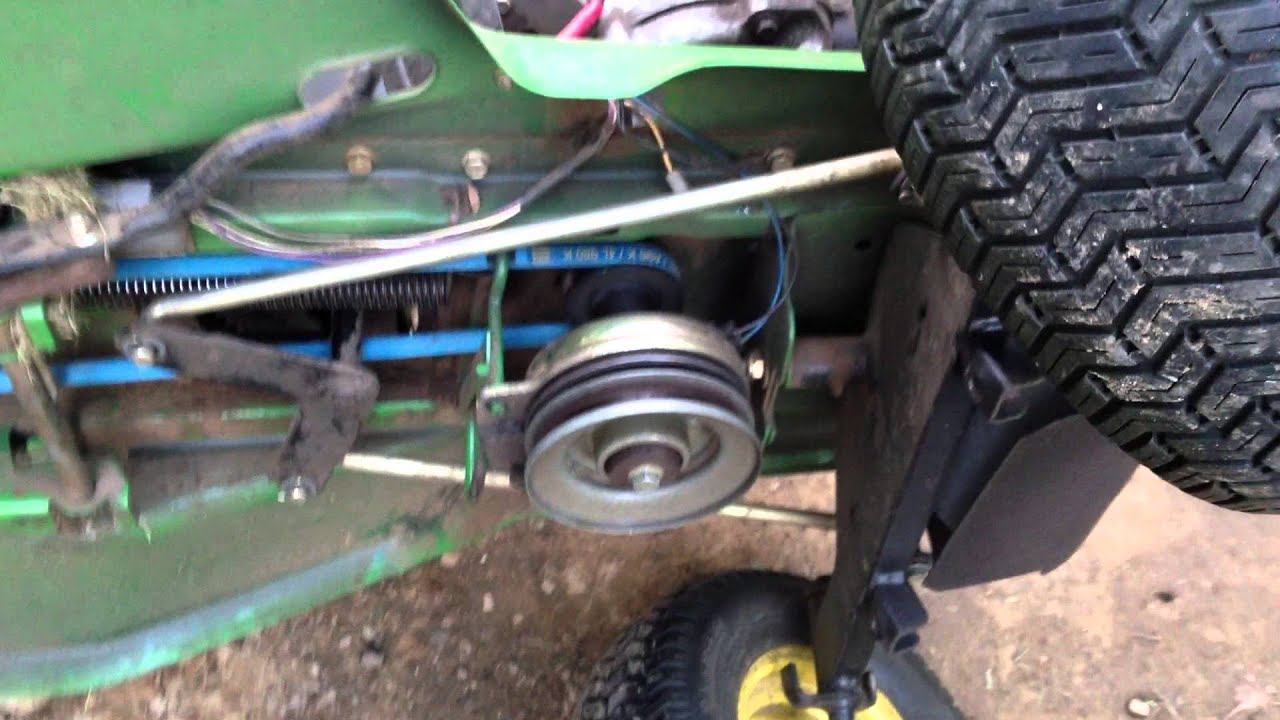 solved john deere lt133 how install mower belt diagram on fixya john deere lt133 mower deck [ 1280 x 720 Pixel ]