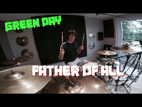 Green Day - Father Of All - Drum Cover