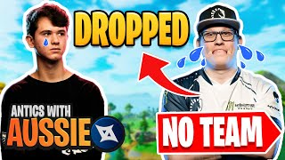 Bugha and Jamper *DROP* Chap!? | Pros Being Fed Free Kills - Antics with Aussie