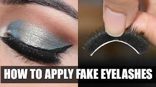 कैसे लगाएं और छुटाएँ Eyelashes How To Apply Remove Fake Eyelashes In HINDI