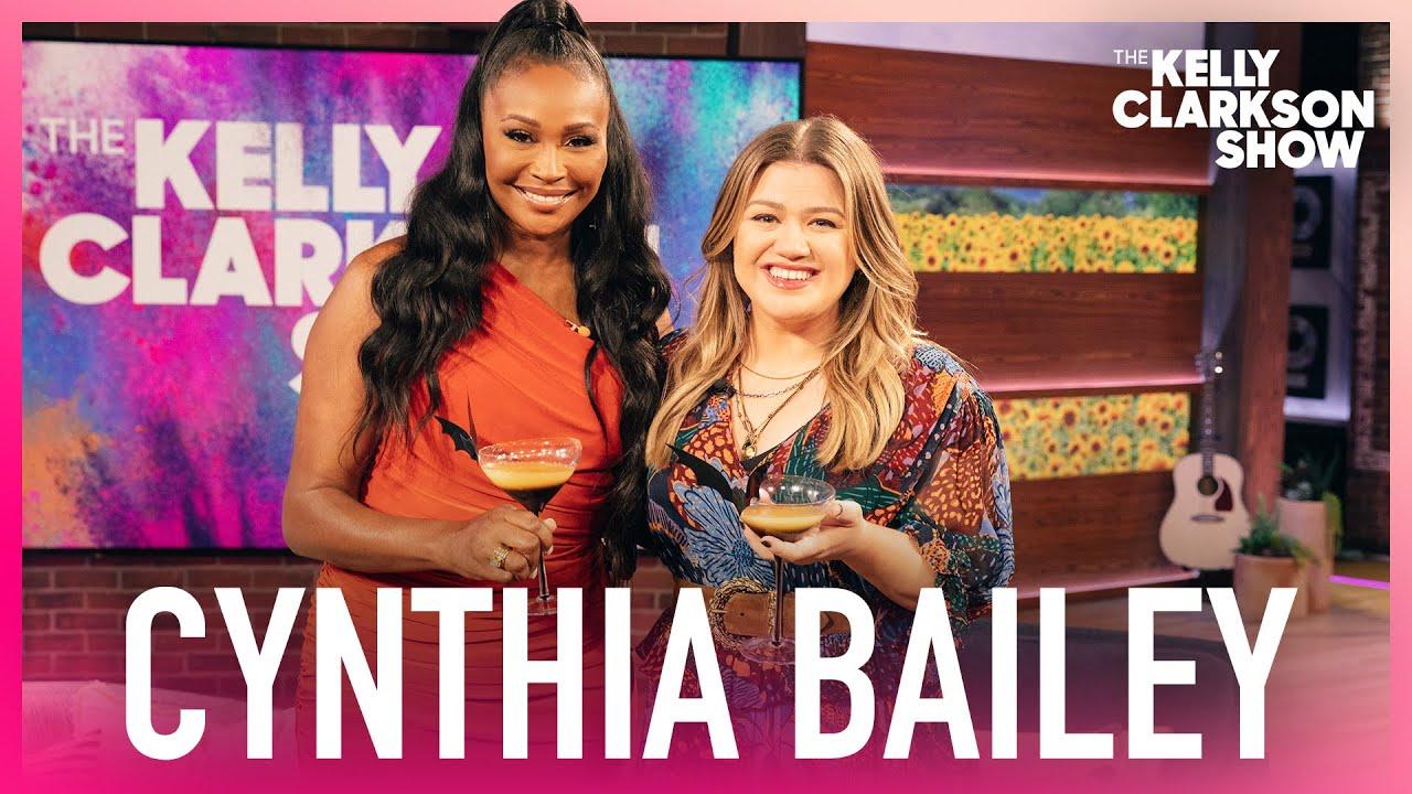 How To Make 'RHOA' Cynthia Bailey's Peach Boo-Lini Halloween Cocktail