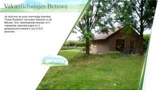 Vakantiehuisjes Betuwe, Recreatiebedrijf Rustoord, Grebbeberg, Bungalows, Groepsaccomodatie