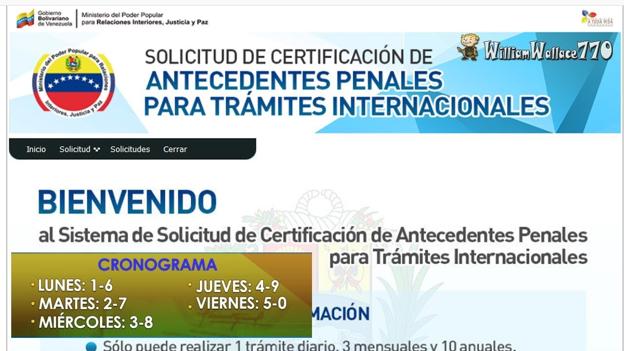 Antecedentes Penales Como Registrarse Y Solicitar Apostilla Electronica