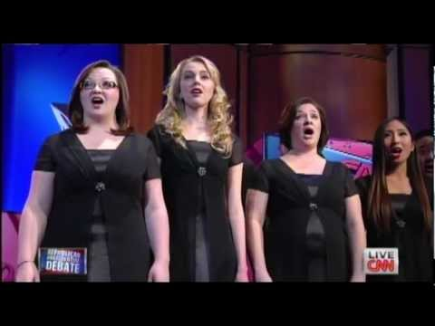 "Unique ""A Cappella"" Rendition of US National Anthem (no instruments, only voices)"