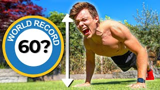 Why It's Almost Impossible to Do 60 Push ups in 30 Seconds | WORLD RECORD