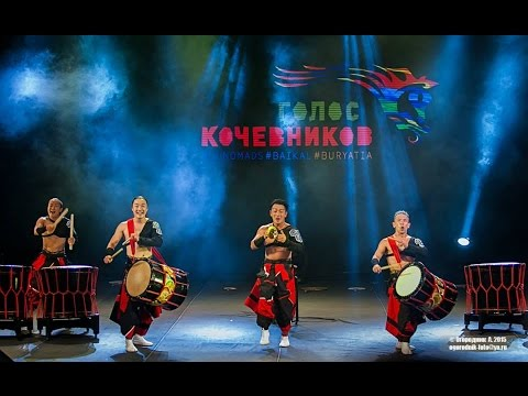 VOICE OF NOMADS 2015| Голос кочевников 2015| ASKA Japanese Drum Troupe