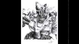 Gundam Unicorn OST 2 - MOBILE SUIT Piano Version