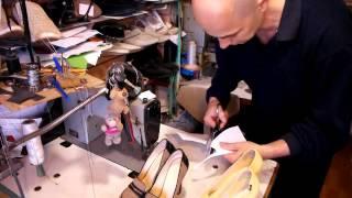Ремонт обуви, видео урок, как поставить профилактику часть 2
