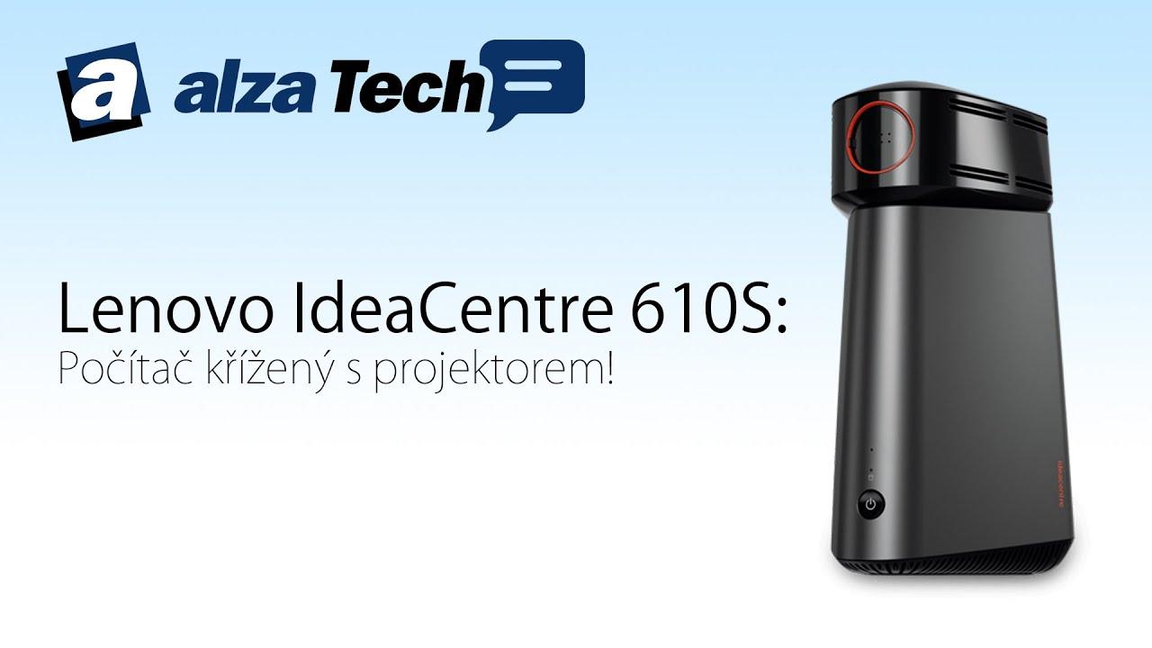 Lenovo IdeaCentre 610S PC se zabudovan½m projektorem AlzaTech 406