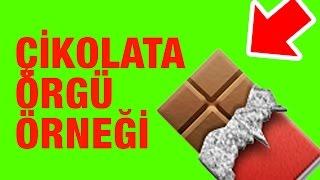 Çok Kolay Yapılan Çikolota Örgü Örneği - Örgü Örnekleri