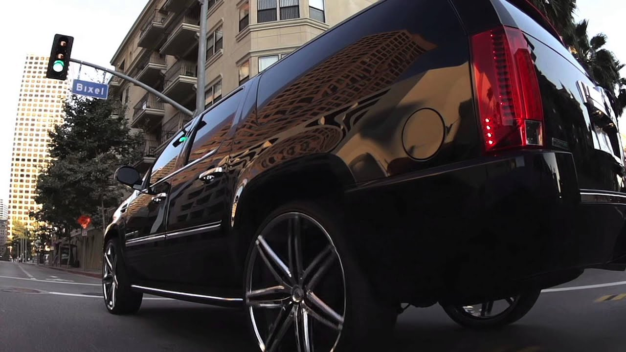 Cadillac Escalade Esv On 28 Quot Johnson Ii Lexani S Ca Tour