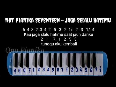 Not Pianika Seventeen - Jaga Selalu Hatimu